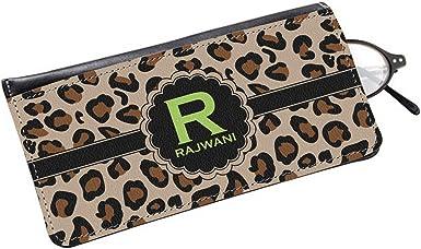 Personalized Granite Leopard Eyeglass Case /& Cloth
