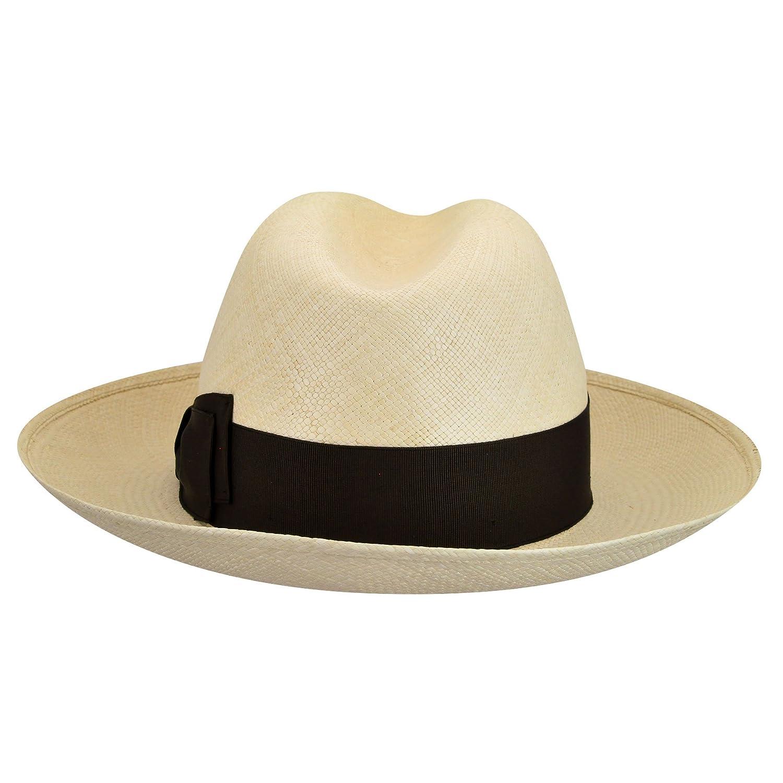 e802194628242 141088 Quito Panama Large Brim Fedora at Amazon Men s Clothing store