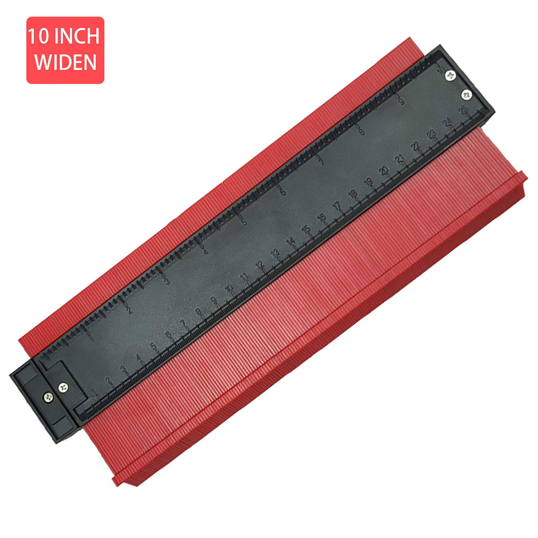 . Contour Gauge,Contour Duplications Gauge,Easy Outline Gauge Standard Wood Marking Tool,Precisely Copy Irregular Shapes for Easy Cutting 10 inch