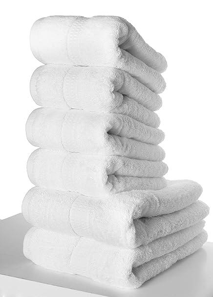 PimpamTex – Juego de Toallas Premium 700 Gramos de Secado Rápido para Baño, 100%