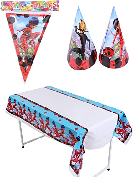 Amazon.com: Astra Gourmet Ladybug Party Supplies - Incluye 1 ...