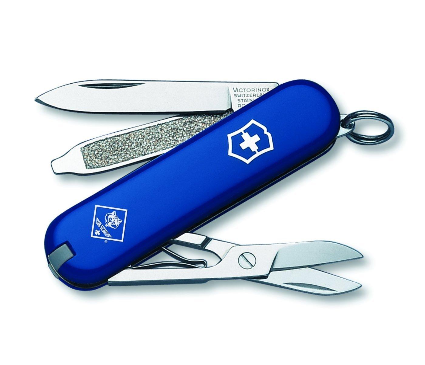 Victorinox Swiss Army Classic SD Cub Scout Pocket Knife, Blue by Victorinox Swiss Army