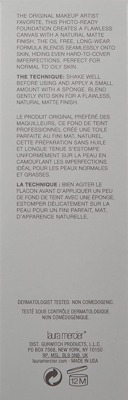 Laura Mercier Base en Crema Libre de Aceite, para Piel Normal o Grasa, Tono Medium Ivory - 30 ml: Amazon.es: Belleza