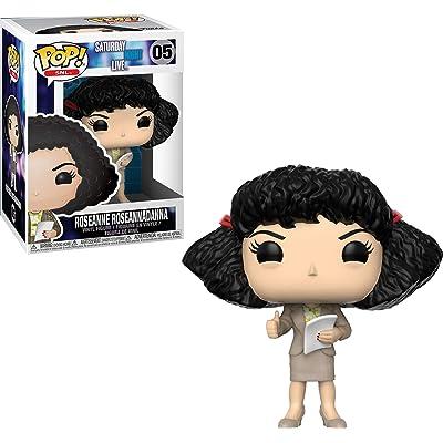 Funko Pop Television: SNL, Saturday Night Live - Roseanne Roseannadanna Collectible Figure, Multicolor: Toys & Games