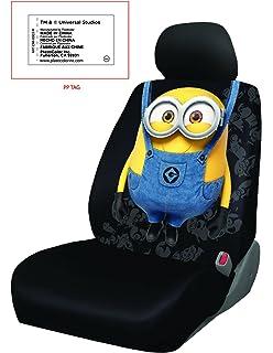 Amazon.com: New Design 6 Pieces Despicable Me Minion Design Car Seat ...