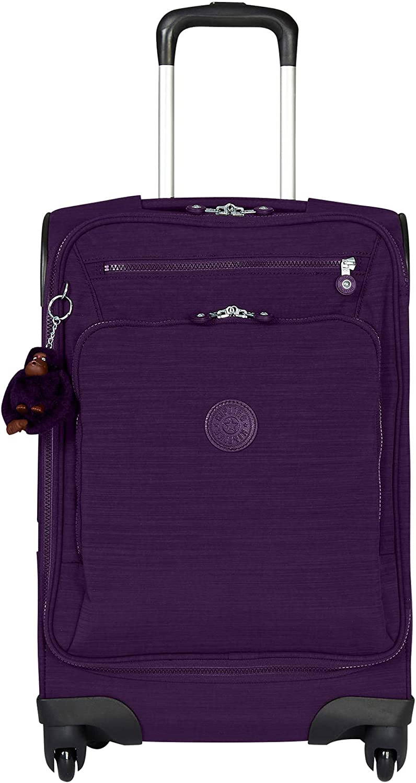 Kipling Unisex-Adult s YOURI Spin 55 Dazz Purple Small Wheeled Luggage