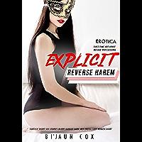 Erotica: Explicit Reverse Harem Fantasy Short Sex Stories: Daddy Ganged Dark Men Erotic Sexy Women Short 3 Books in 1…