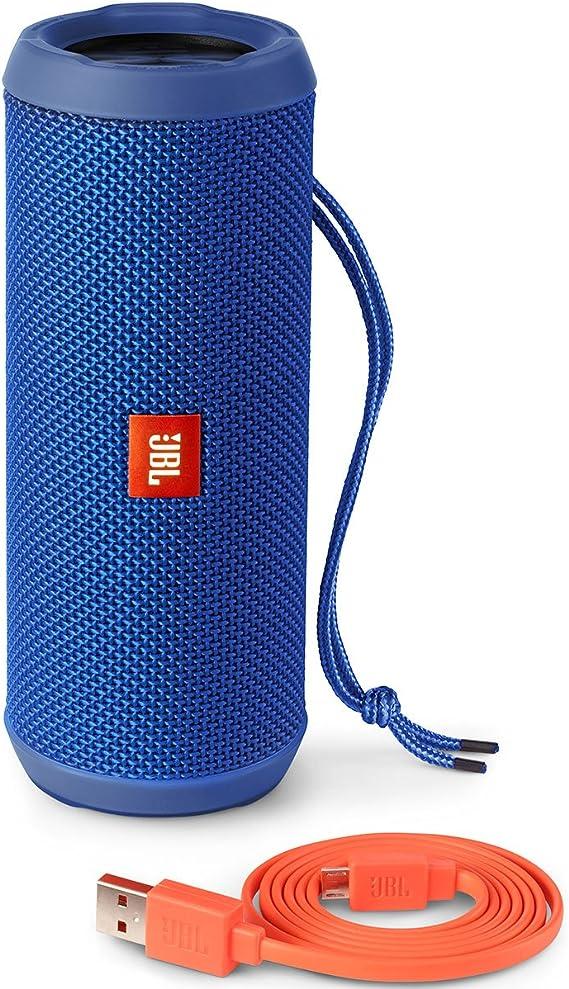 Amazon Com Jbl Jbl Flip 3 Splash Proof Portable Bluetooth Speaker Blue Electronics