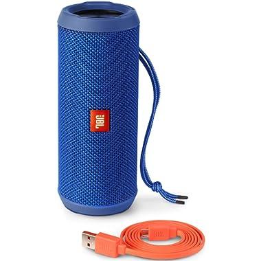 JBL Jbl Flip 3 Splash proof Portable Bluetooth Speaker, Blue
