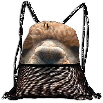 3D Print Leisure Bundle Backpack Cute Alpaca Head Art ...