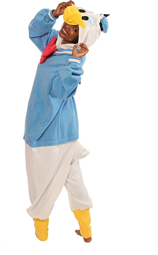 donald duck onesie for adults