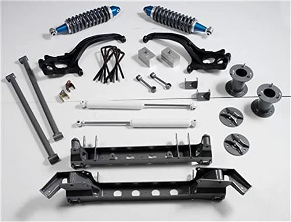 Skyjacker Black Max Series Kit 4 Shocks for Ford F-250 4WD 2005-2016 6-7 Front /& 6-7 Rear inch Lift