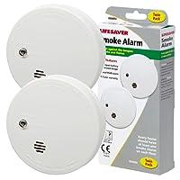Kidde KID9040TLSB Twin Pack of Smoke Alarms