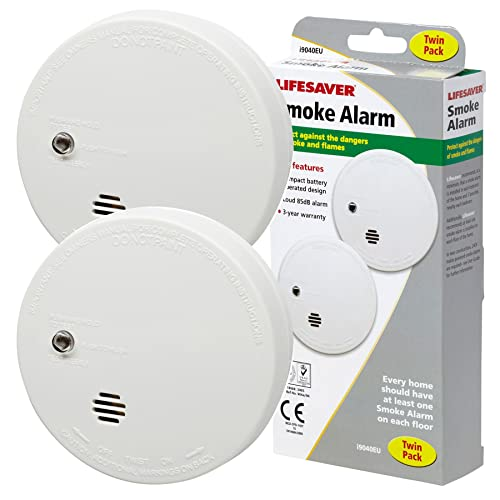 Kidde KID9040TLSB Twin Pack of Smoke Alarms