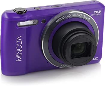 Minolta MN12Z 20MP 720p Digital Camera
