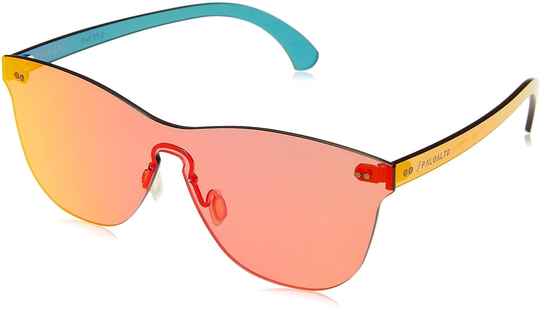 Paloalto Sunglasses p25.6Brille Sonnenbrille Unisex Erwachsene, Rot