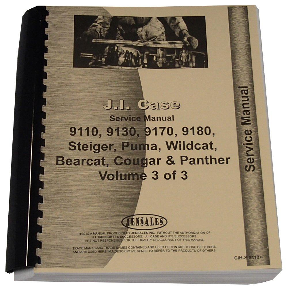 Steiger Wildcat 1000 Tractor Service Manual SN# 17900250-JCB001501