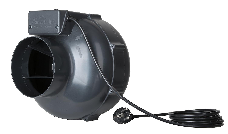 Prima Klima EC-Lüfter 220-360 m3/h Rohrventilator inkl. Greenception Dünger 100g