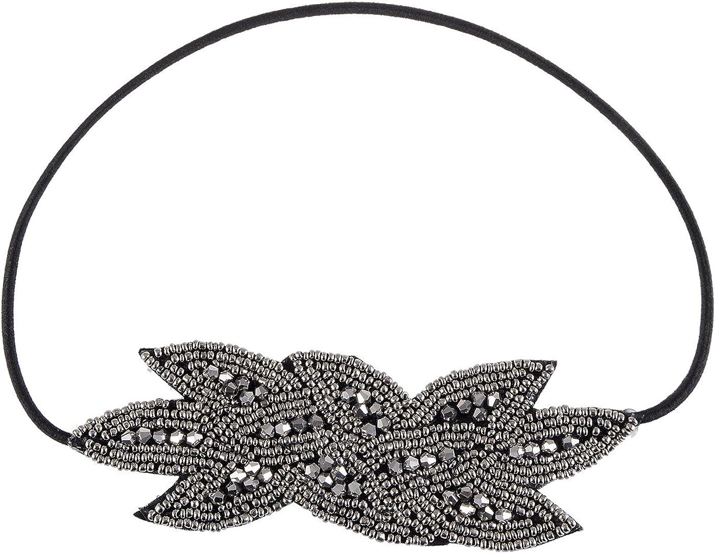 Alilang Vintage 1920S Floral Leaf Flapper Headband