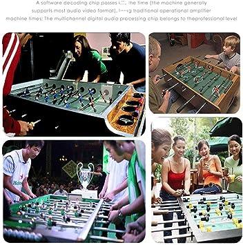 JWDYA Fútbol Fútbol Table Top Kids Familia Juego de futbolín Juego ...