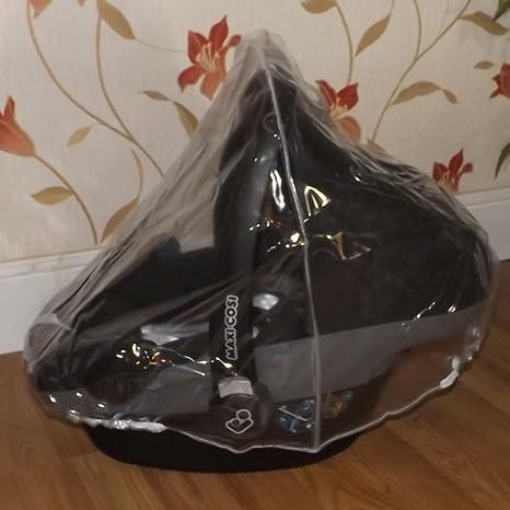 228 Protector de lluvia Compatible con Maxi Cosi Cabrio Fix asiento de coche