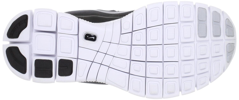 Nike Lady Free 5.0+ Running Shoes B0098SKJVA 12|Black/Metallic Silver/Dark Grey/White