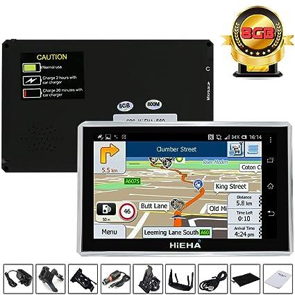 kainuoa camión coche Sat Nav GPS Navigator Multimedia Player Poi SpeedCam libre UE Reino Unido Mapas