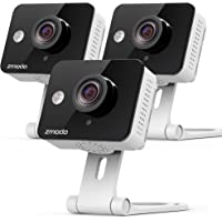3-Pack Zmodo 720p HD WiFi Security Camera System