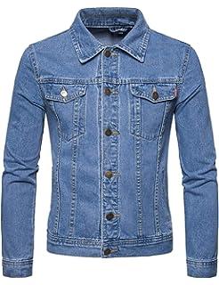 cf8dbd25dda Lentta Men's Vintage Relax Fit Thick Fleece Sherpa Lined Denim Jean Jacket  Coat
