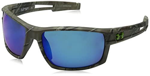 035679d0d7c6 Under Armour Men's Captain Storm 8630064-878768 Polarized Sunglasses,  Realtree Pattern, ...