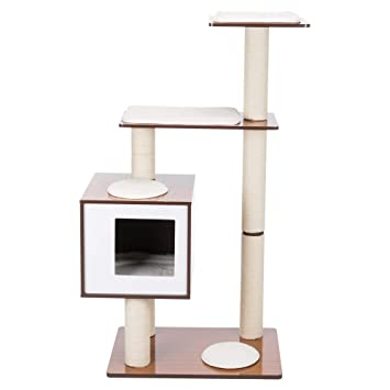Amazon.com: Trixie Avoca - Mueble de madera para gatos ...