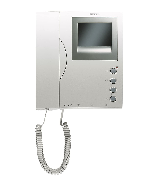 FERMAX 3305 Loft - Intercomunicador por cable con pantalla de montaje en pared: Amazon.es: Bricolaje y herramientas