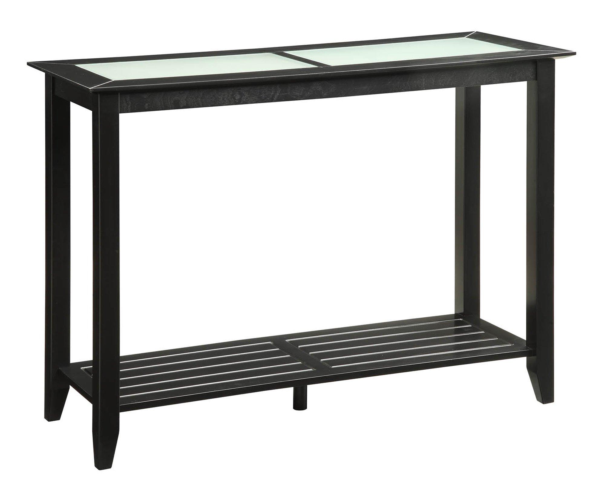 Convenience Concepts Carmel Console Table, Black by Convenience Concepts