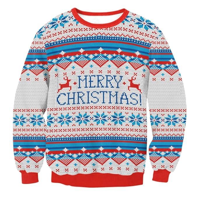 Suéter de Navidad de las mujeres - 2017 Otoño e Invierno Jersey de ...