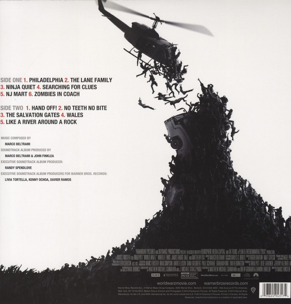 World War Z : Soundtrack : Amazon.es: Música