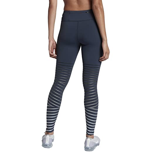 13a92c9e10ba9 Amazon.com : Nike Womens Fitness Yoga Athletic Tights Blue XS : Footwear :  Sports & Outdoors