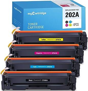 CF500A Toner Cartridge Lot For HP 202A Color LaserJet Pro M254dw M281cdw M281fdw