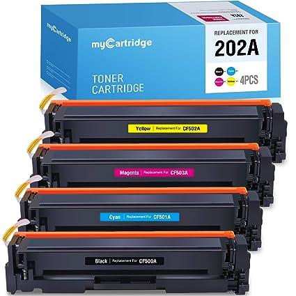 Mycartridge Tóner Compatible para HP 203A cf540A cf541A cf542A ...