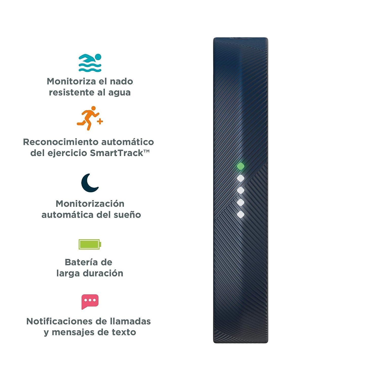Fitbit Flex 2 Pulsera de Actividad física, Unisex, Azul Marino, Talla única
