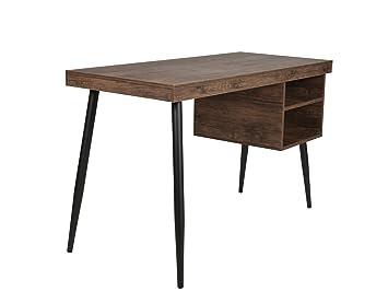 Schreibtisch design holz  ts-ideen Design Holz Schreibtisch Bürotisch PC-Tisch Computer ...