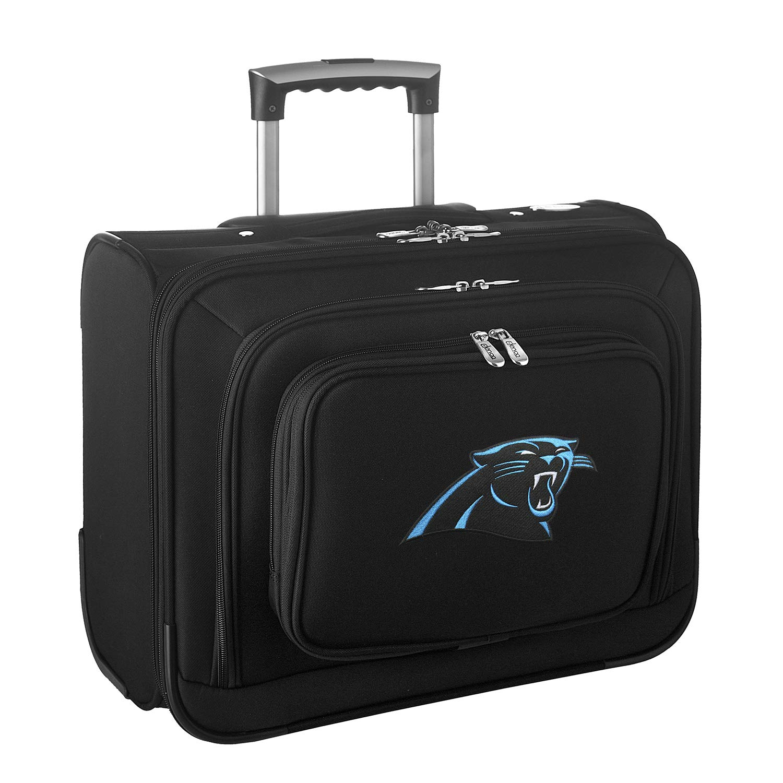 NFL Carolina Panthers Wheeled Laptop Overnighter