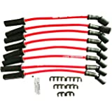 A-Team Performance 8.0mm Red Silicone Spark Plug Wires Compatible with GMC Chevy Truck