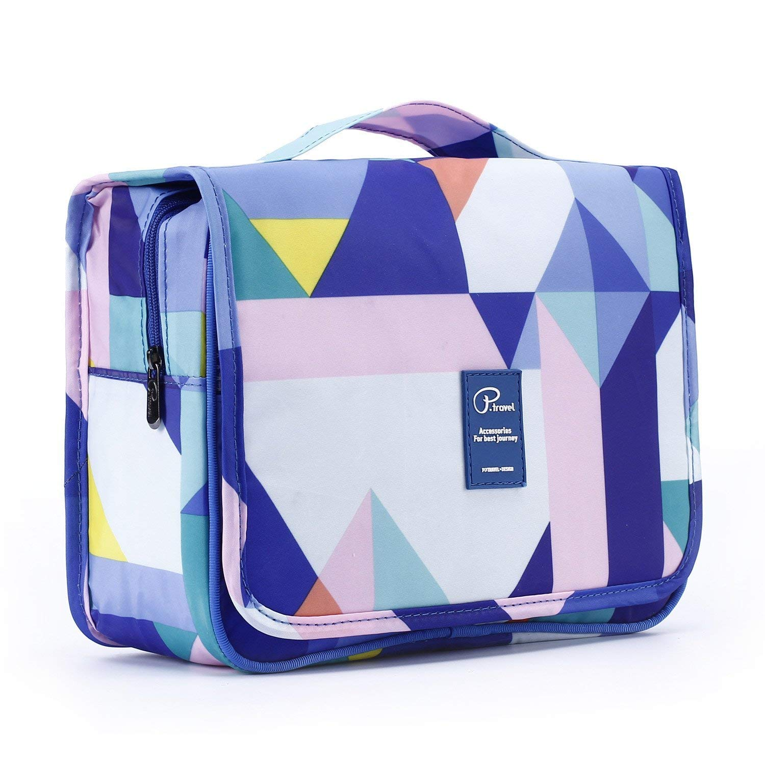 732e670cfff8 2018 New Hanging Toiletry Bag Bathroom Organizer Travel Nylon Portable  Cosmetic Bag for Women and Men