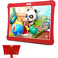 Tablet para Niños con WiFi 10 Pulgadas, Android 9.0 3GB RAM 32GB ROM /128GB Escalables Tableta PC, Quad-Core Dual SIM 8…