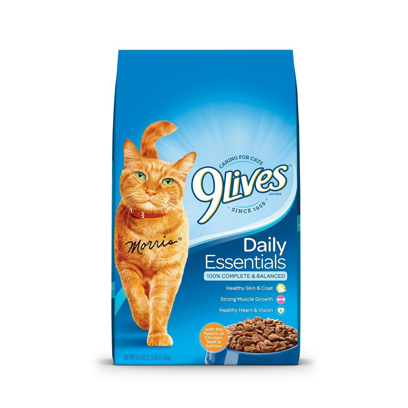 Nine Lives Daily Essentials Cat Food