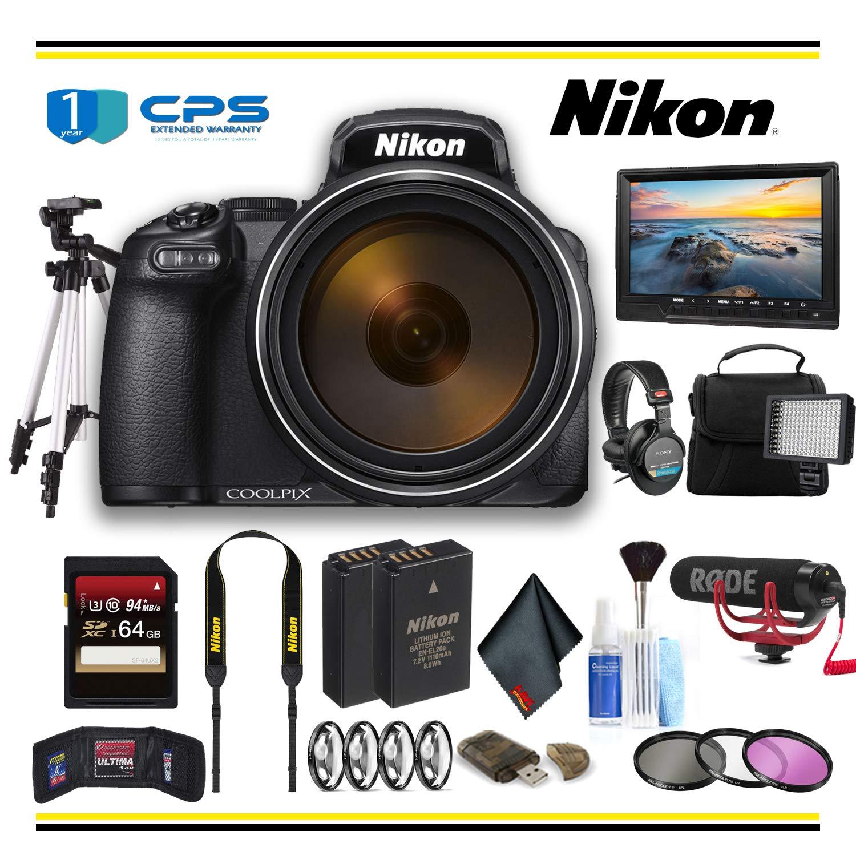 Nikon COOLPIX P1000 デジタルカメラ (26522) スターターバンドル - (国際モデル) Professional  B07P83QYRV