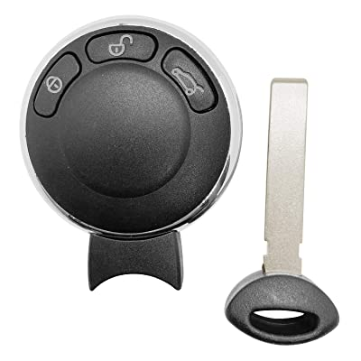 Replacement for 2007 2008 2009 Mini Cooper Smart Remote Car Keyless Key Fob