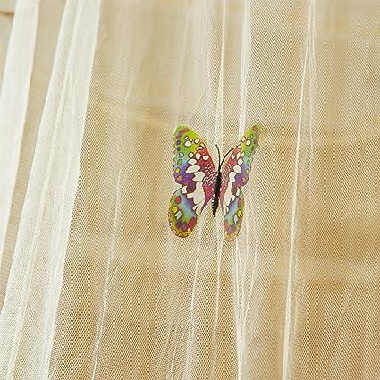 Amorar Moskitonetz Konische Vorh/änge Spitze Runde Insekt Fly Screen Protection Repellent Schild Bett Baldachin Baldachin Bett Vorh/änge h/ängen Dekorationen,EINWEG Verpackung