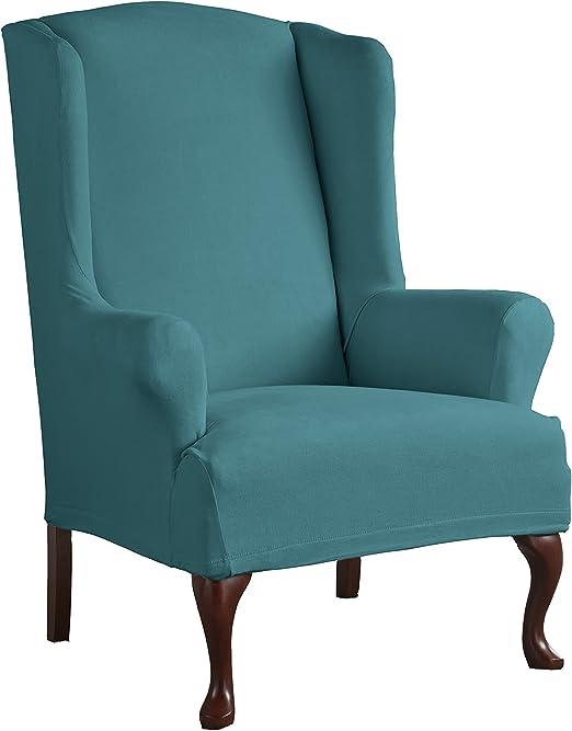 funda de sofa elastica chair cover  cover wing chair clic clac- relax xl