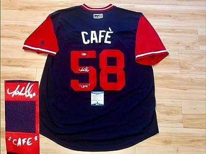f270adcf Jose Martinez Hand Autographed Signed St Louis Cardinals Nickname ...